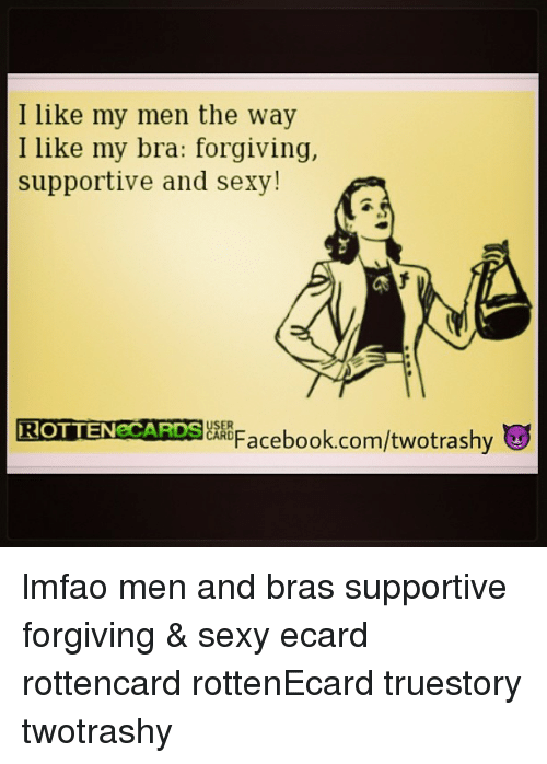 Interesting idea.. ecard of sexy men true answer