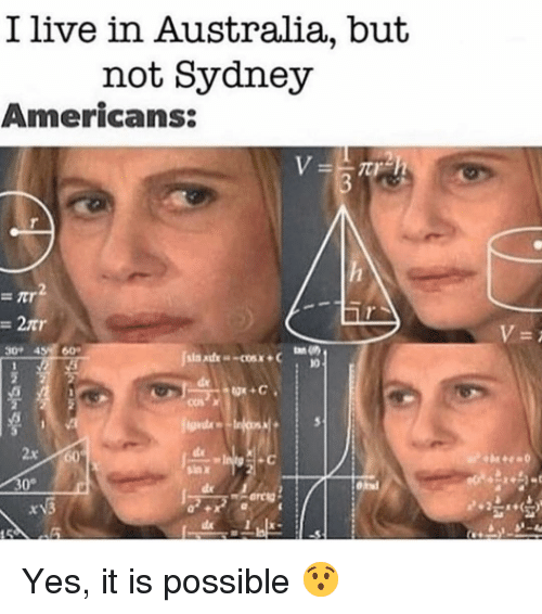 i live in sydney