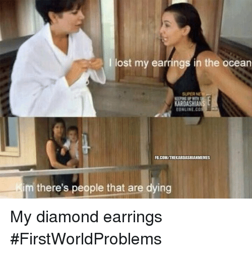 Lost Diamond And Kardashian I My Earring In The Ocean Roashian