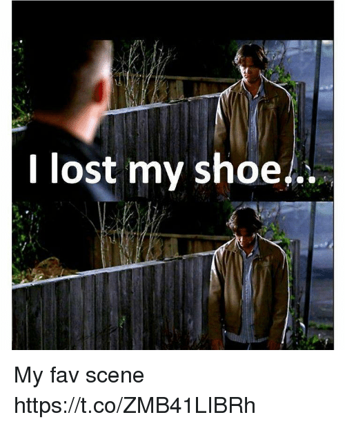 I Lost My Shoe