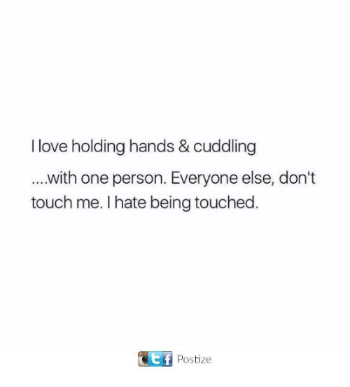 I Love Holding Hands