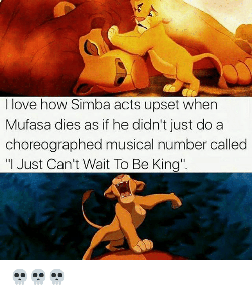 i love how simba acts upset when mufasa dies as 23135393 search mufasa dies memes on me me