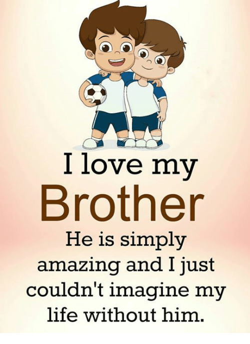 i love my brother he is simply amazing and just 21392865 ✅ 25 best memes about i love my brothers i love my brothers memes