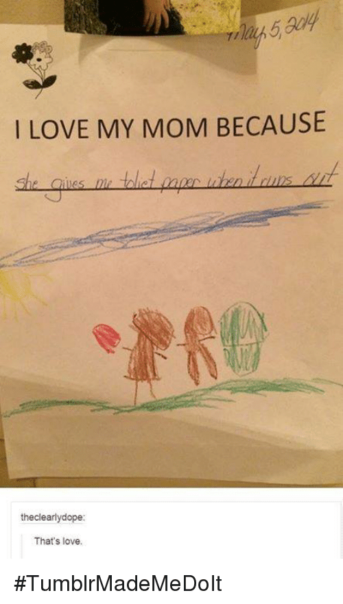 i love my mother because essay I submitted the piece a month before mother's day,  so i thought about who i love because, after  in case you missed the link to my modern love essay.