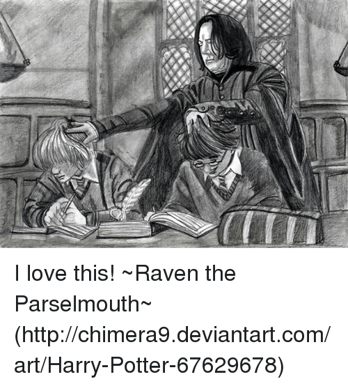 I Love This Raven The Parselmouth