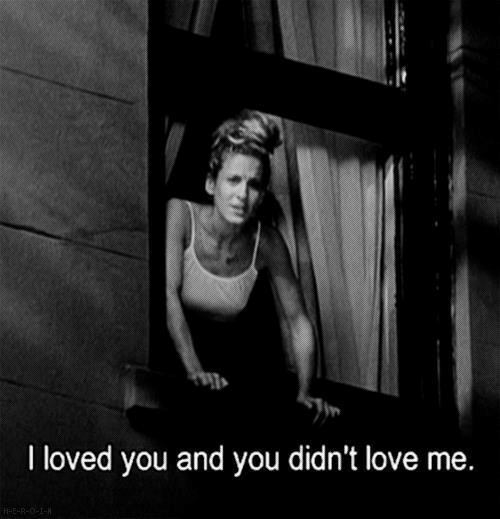 Love, You, and  Love Me: I loved you and you didn't love me.