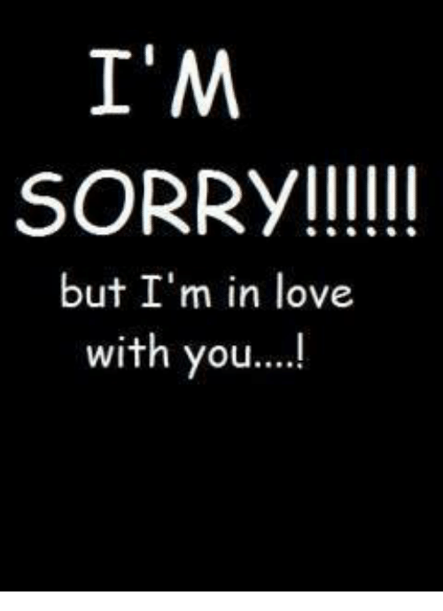 how to say sorry to a man you love