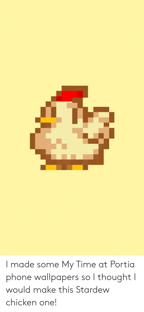 I Made Some My Time At Portia Phone Wallpapers So I Thought