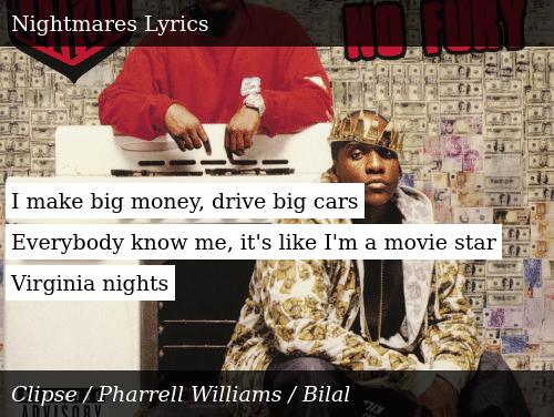 i make big money i drive big cars lyrics