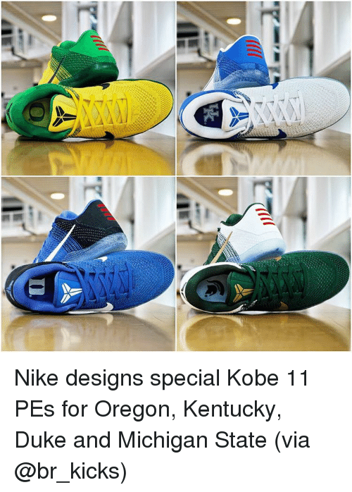 the latest 1ce96 97273 Nike, Sports, and Duke  I )nLa Nike designs special Kobe 11 PEs