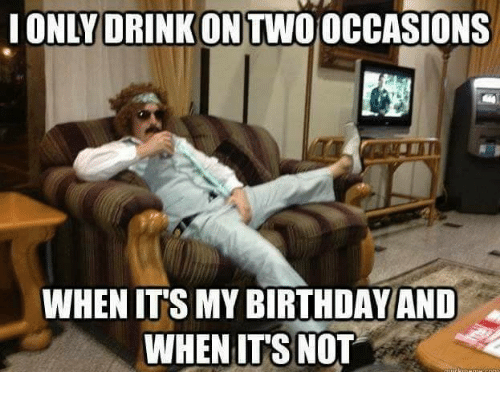 Funny It S My Birthday Meme : Birthday memes with famous people and funny messages