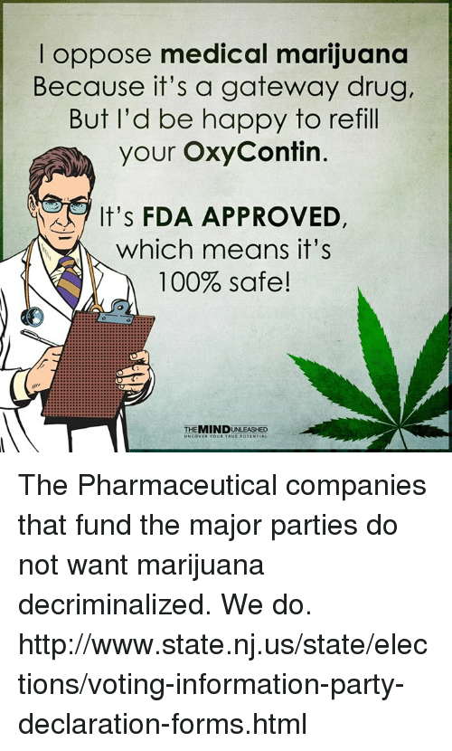 medical marijuana and the pharmaceutical industry Given these numbers, it's not difficult to see why big pharma is so opposed to  medical marijuana legalization any industry that stands to lose.