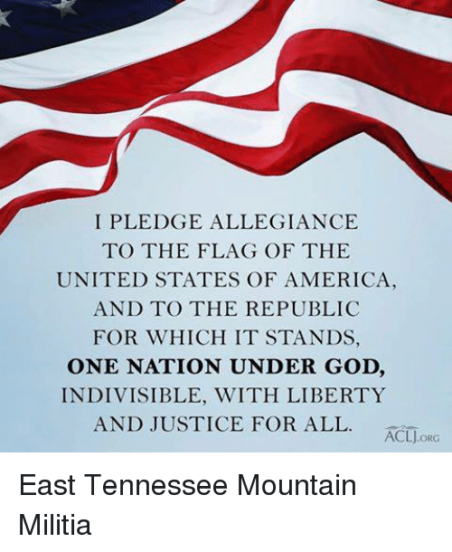 a pledge of allegiance to the united states of america The pledge of allegiance of the united states is an expression of allegiance to the flag of the united states and the republic of the united states of america it was originally composed by captain george thatcher balch, a union army officer during the civil war and later a teacher of patriotism in new york city schools.