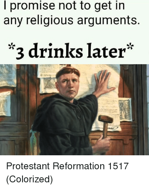 I promise not to get into any religious arguments