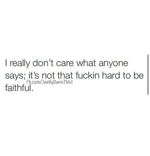 i really dont care