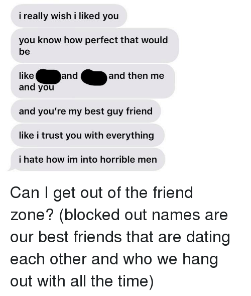 i hate the guy my friend is dating