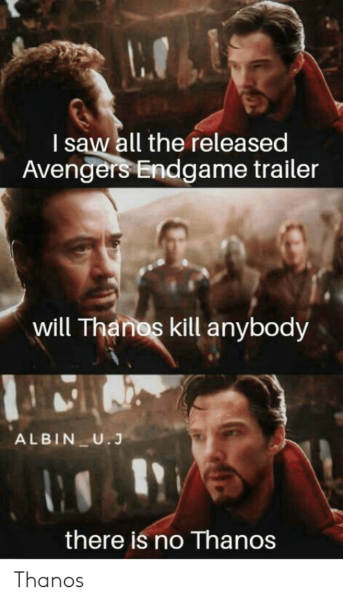 I Saw All the Released Avengers Endgame Trailer Will Thanos