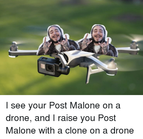 Drone And Meme On