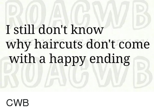 Haircut And Happy Ending