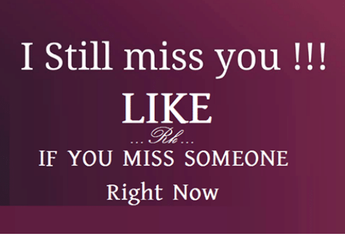 how to know if he still misses you