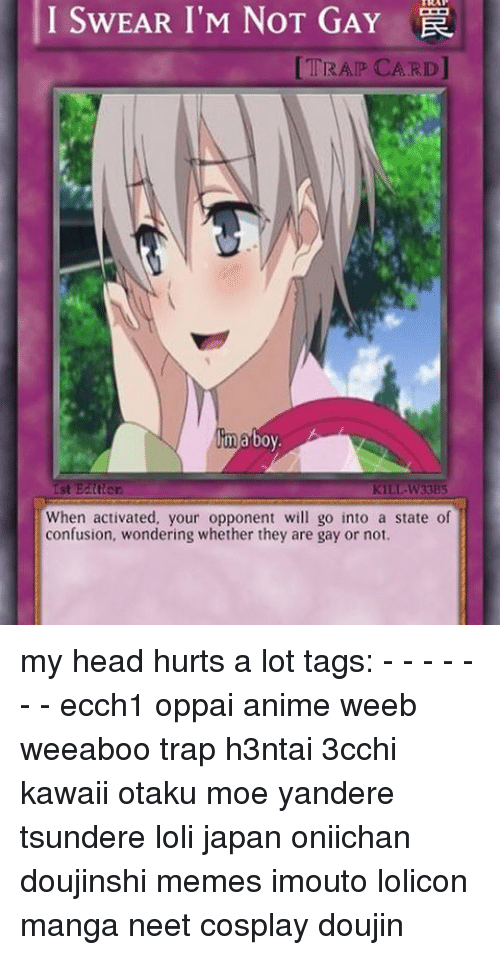 i swear im not gay trap card ma boy tter 7788389 i swear i'm not gay trap card ma boy tter kill w33b5 when activated