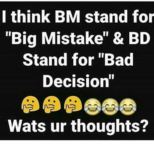 What Does Bm Stand For In Texting