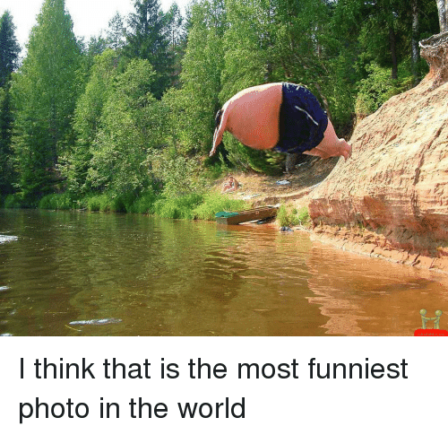 Funny World And Photos I Think That Is The Most Funniest Photo In