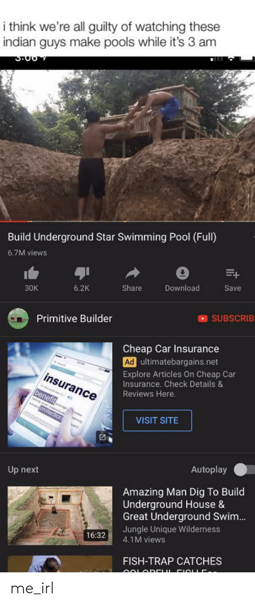 Indian Guys Building Pools
