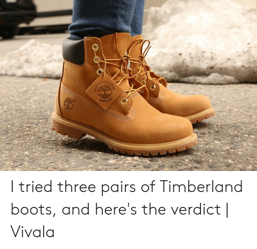 139f0cfd9 Timberland, Boots, and Timberland Boots: I tried three pairs of Timberland  boots,