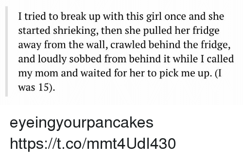 breaking up with a girl