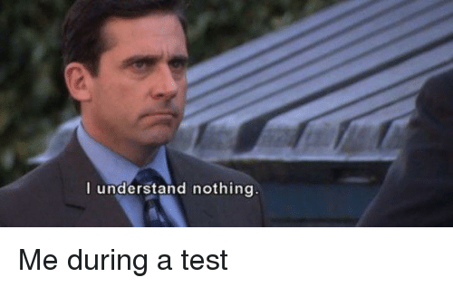 office test usps the office test and nothing understand nothing understand nothing the office meme on meme
