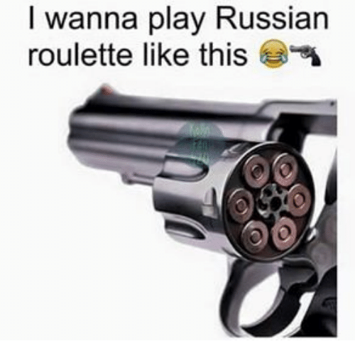 How many people play russian roulette internet gambling business
