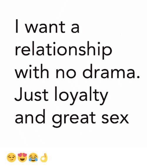 just sex or relationship