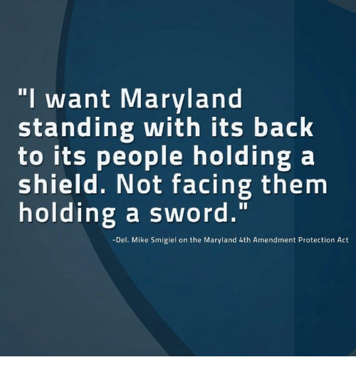 Memes Maryland And Sword I Want Standing With Its Back To