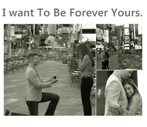 i want to be forever yours