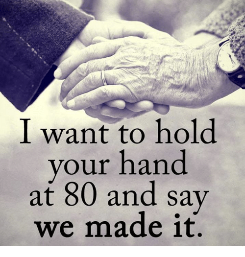 I Want to Hold Your Hand at 80...