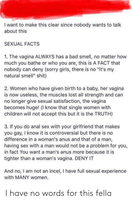 anal sex is bad for you