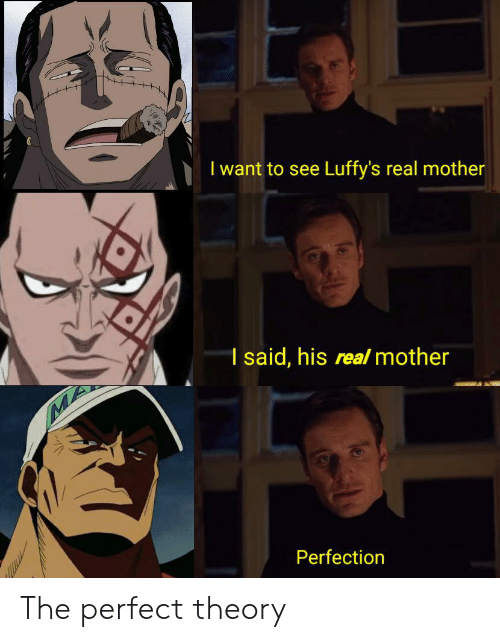 I Want to See Luffy's Real Mother 1 Said His Real Mother MA