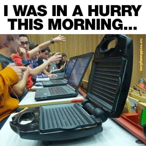 This, Morning, and Hurry: I WAS IN A HURRY  THIS MORNING...  veryfunnypics.eu