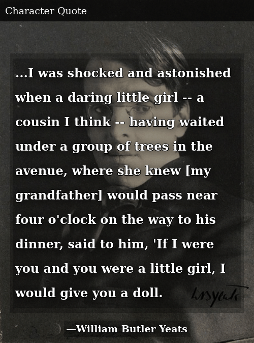 I Was Shocked and Astonished When a Daring Little Girl -- A ...
