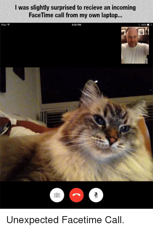 facetime on my laptop
