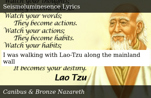 I Was Walking With Lao-Tzu Along the Mainland Wall | Donald
