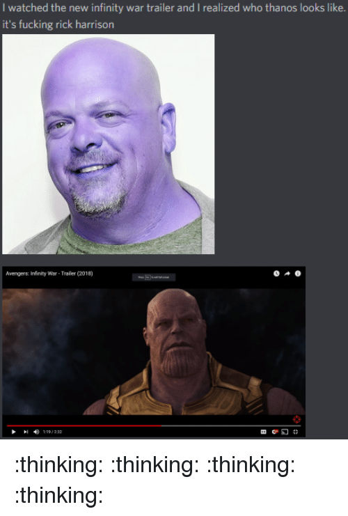bbf573e93 Fucking, Avengers, and Infinity: I watched the new infinity war trailer and  I. Save save meme