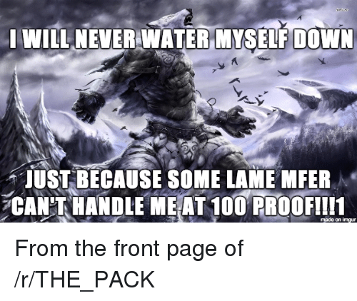 R The Pack