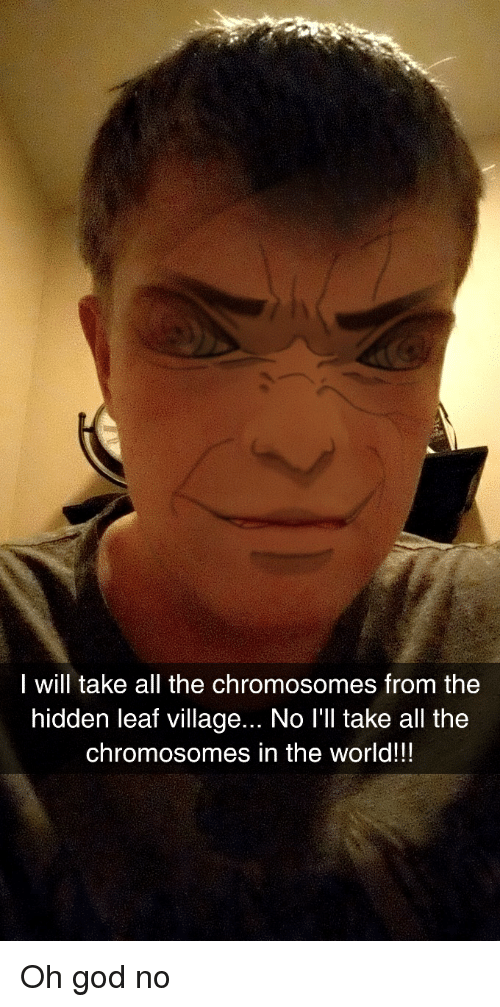 I Will Take All the Chromosomes From the Hidden Leaf Village