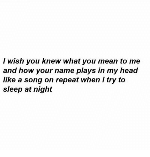 Songs I Wish You Knew