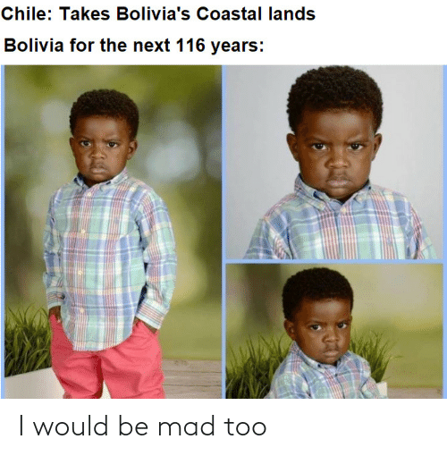 Mad, I Would, and Too: I would be mad too