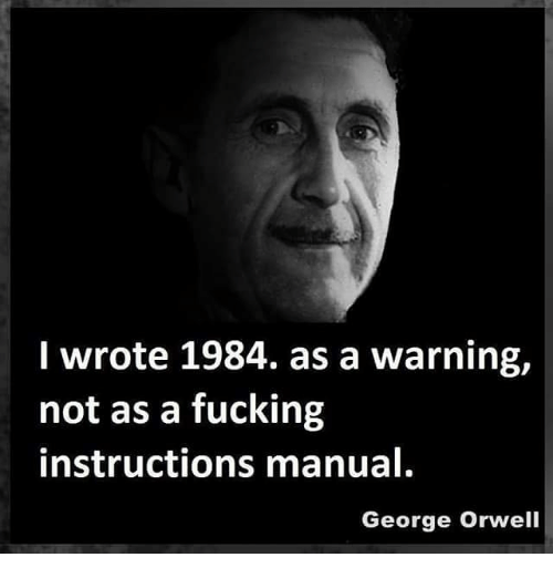 Image result for george orwell 1984 instruction manual