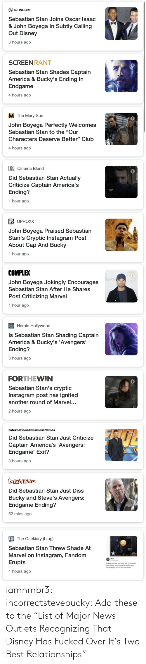 """Disney, Gif, and News: iamnmbr3:  incorrectstevebucky: Add these to the """"List ofMajor News Outlets Recognizing That Disney Has Fucked Over It's Two Best Relationships"""""""