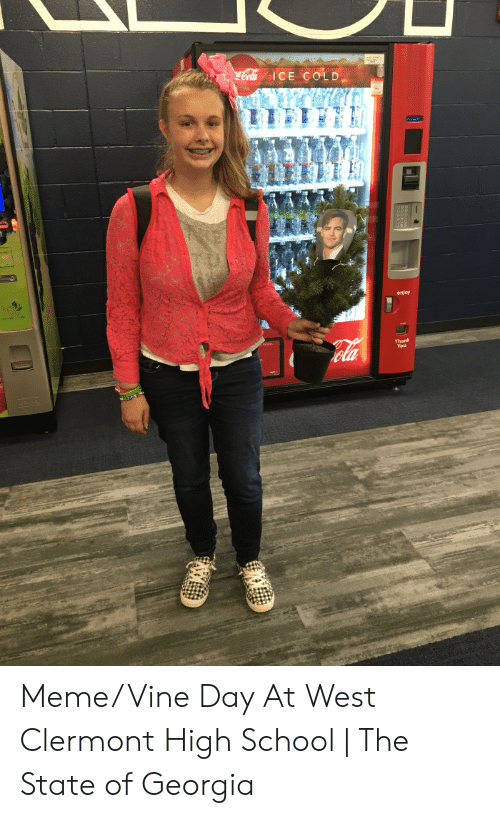 ICE COLD Enjoy Thank MemeVine Day at West Clermont High